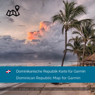 Dominikanische Republik Garmin Karte Download