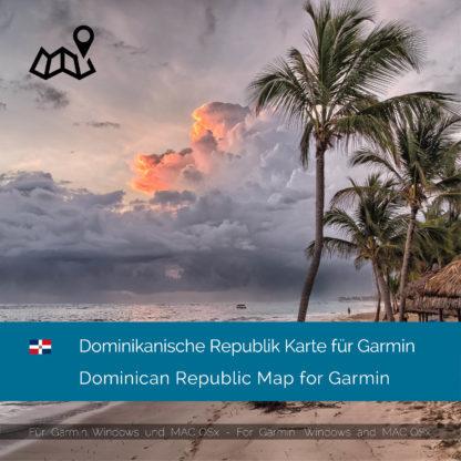 Dominikanische Republik Garmin Karte Download