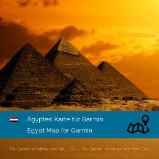 Ägypten Garmin Karte Download