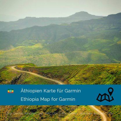 Äthiopien Garmin Karte Download