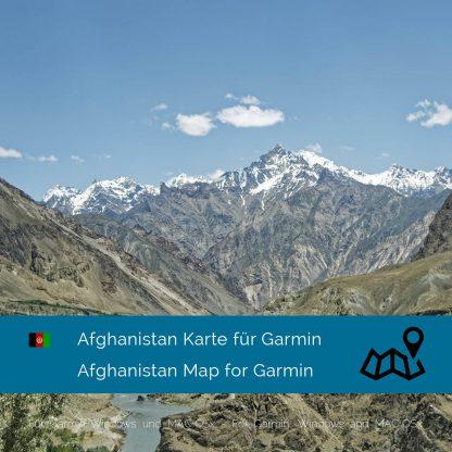 Afghanistan Garmin Karte Download