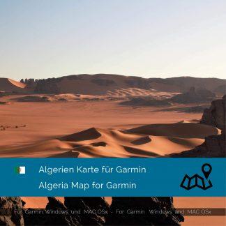 Algerien Karte für Garmin jetzt online im Shop als Download kaufen!