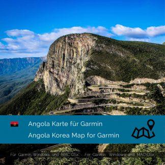 Angola Karte für Garmin jetzt online im Shop als Download kaufen!