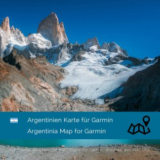 Argentinien Karte Garmin Download