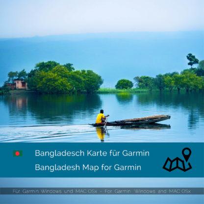 Bangladesch Garmin Karte Download