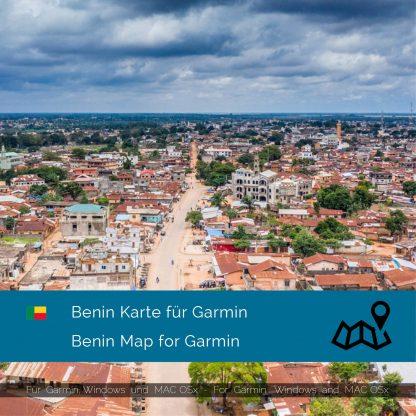 Benin Karte für Garmin jetzt online im Shop als Download kaufen!