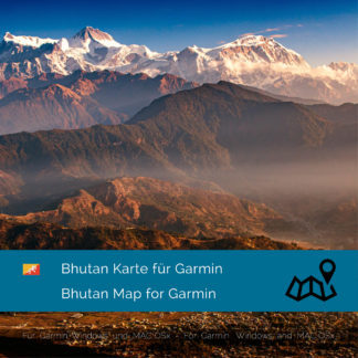 Bhutan Garmin Karte Download