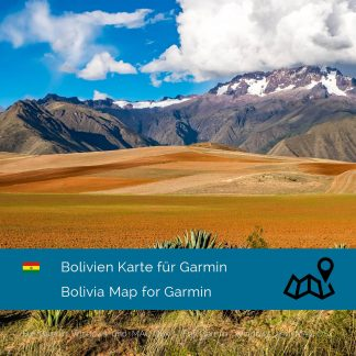 Bolivien Garmin Karte Download