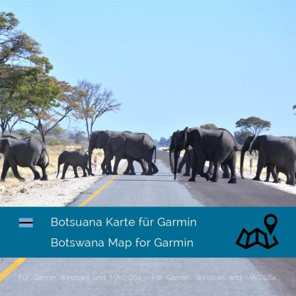 Botswana Garmin Karte Download