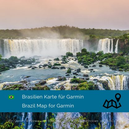 Brasilien Garmin Karte Download