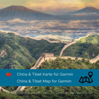 China & Tibet Garmin Karte Download