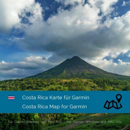 Costa Rica Garmin Karte Download
