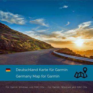 Deutschland Garmin Karte Download