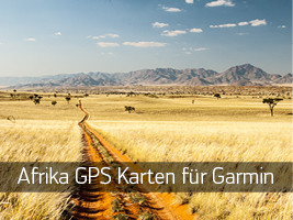 Download Garmin GPS Karten Afrika