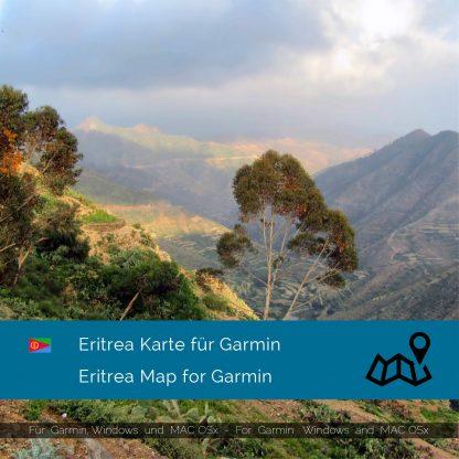 Eritrea Karte für Garmin jetzt online im Shop als Download kaufen!