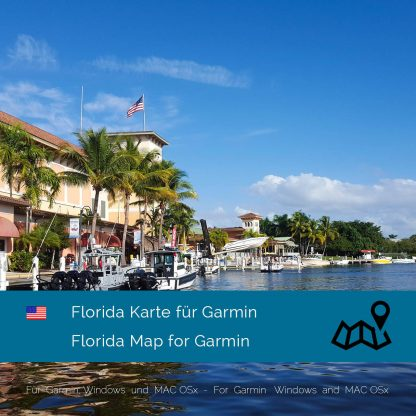 Florida USA Garmin Karte Download