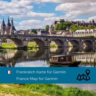 Frankreich Garmin Karte Download