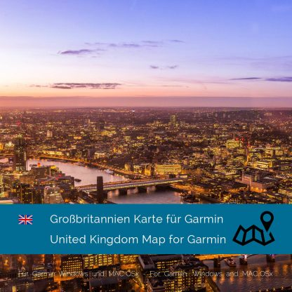 Großbritannien Garmin Karte Download