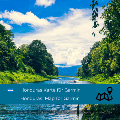 Honduras Garmin Karte Download