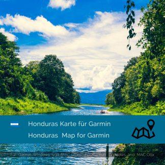 Honduras Garmin Karte Download