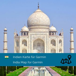 Indien Garmin Karte Download