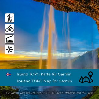 Island TOPO Karte Garmin Download
