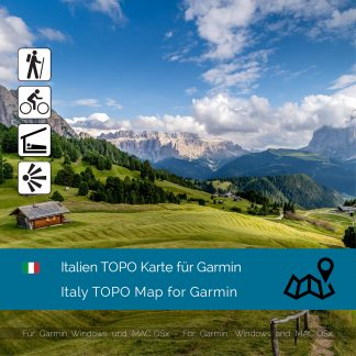 Italien TOPO Garmin Karte Download