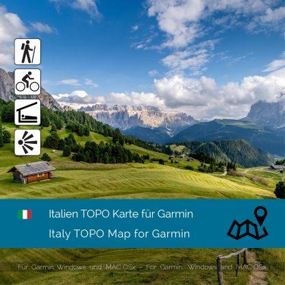 Italien TOPO Garmin Karte Download