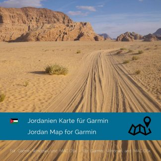 Jordanien Garmin Karte Download