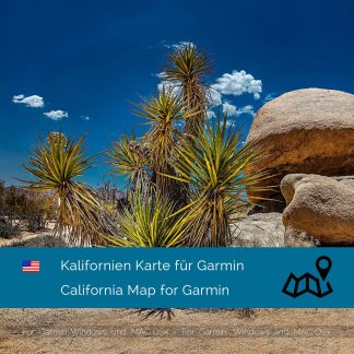 Kalifornien Garmin Karte Download