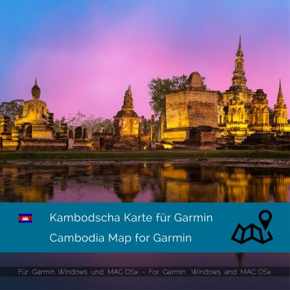 Kambodscha Garmin Karte Download
