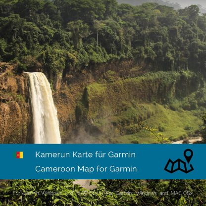 Kamerun Garmin Karte Download