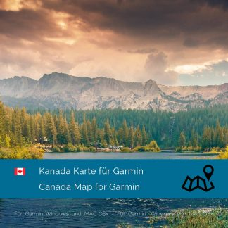 Kanada Garmin Karte Download