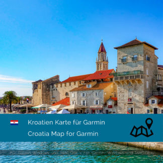 Kroatien Garmin Karte Download