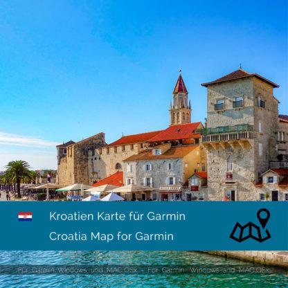 Kroatien Garmin Karte Download