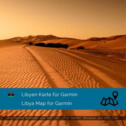 Libyen Karte für Garmin jetzt online im Shop als Download kaufen!