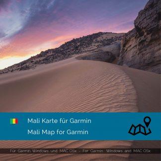 Mali GPS Karte für Garmin