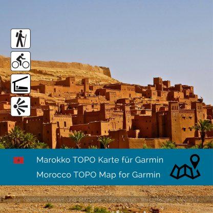 Marokko Topo Garmin Karte Download