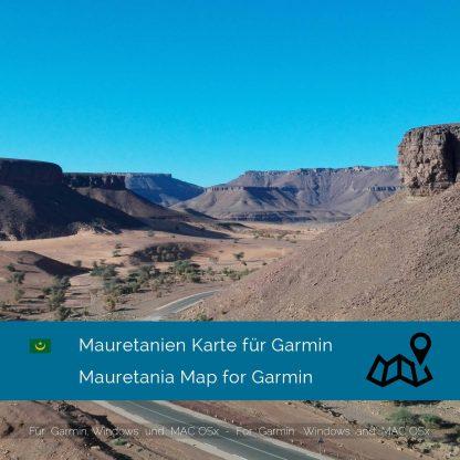 Mauretanien Garmin Karte Download