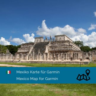 Mexiko Garmin Karte Download