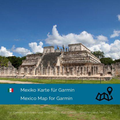 Mexiko Garmin Karte Download