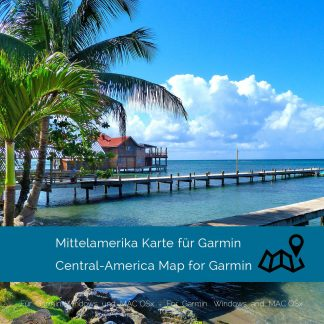 Mittelamerika Garmin Karte Download