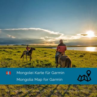 Mongolei Garmin Karte Download