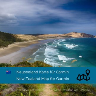 Neuseeland Garmin Karte Download
