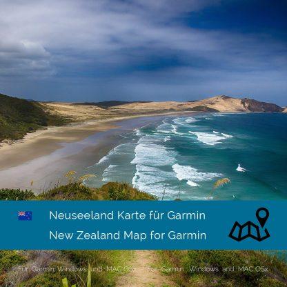 Neuseeland Garmin Karte Download