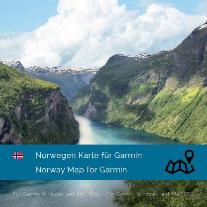Norwegen Garmin Karte