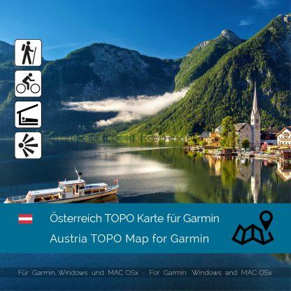 Österreich TOPO Garmin Karte Download