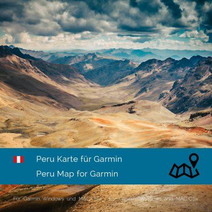 Peru Garmin Karte Download