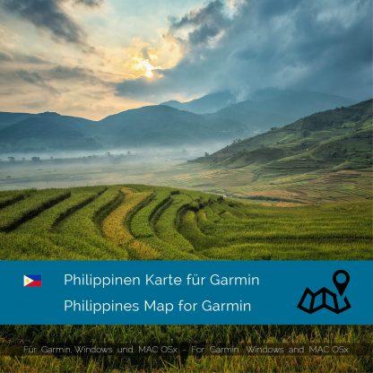Philippinen Garmin Karte Download