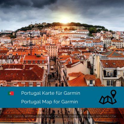 Portugal Garmin Karte Download